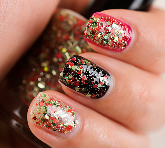 Lacquistry In a Pear Tree Nail Lacquer