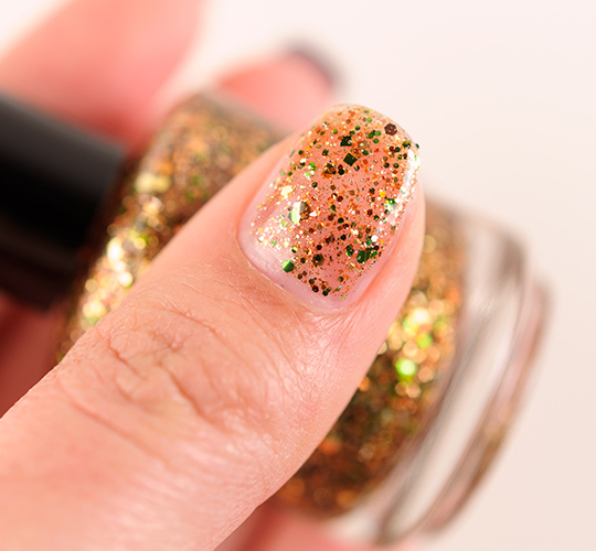 Lacquistry Wattle Over With That Stuffing Nail Lacquer