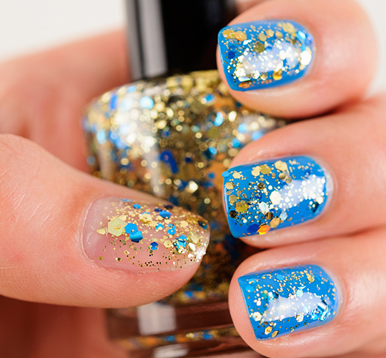 Lacquistry Whadya Gelt for Hanukkah Nail Lacquer