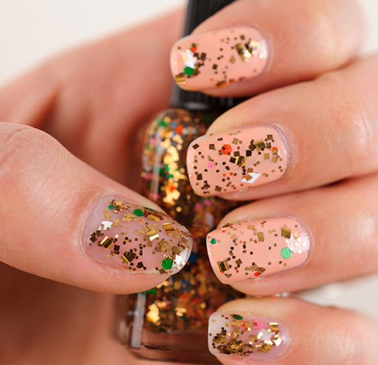 Lynnderella Gingerbread Hearts Nail Lacquer