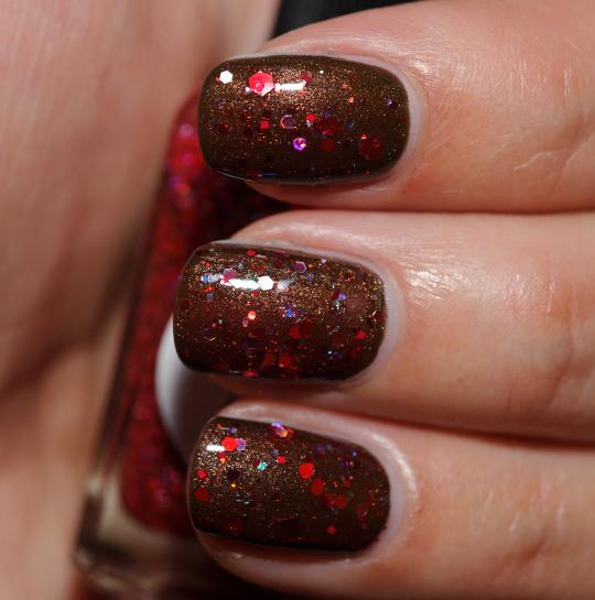 Lynnderella Undead Red Nail Lacquer
