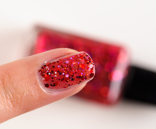 Lynnderella Undead Red Nail Lacquer