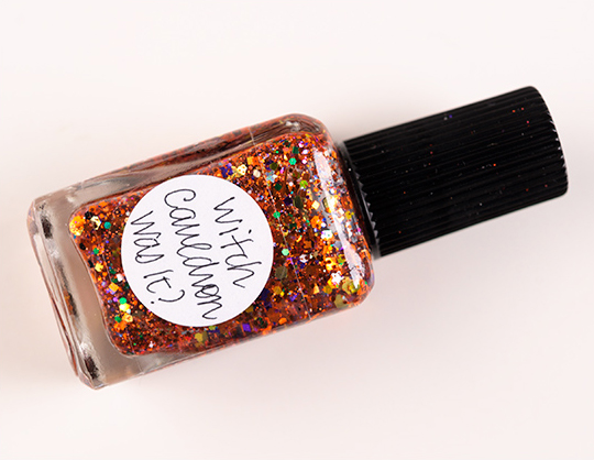 Lynnderella Witch Cauldron Was It? Nail Lacquer
