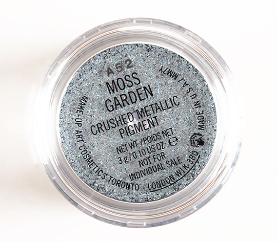 MAC Brilliantly Cool Crushed Metallic Pigments Set