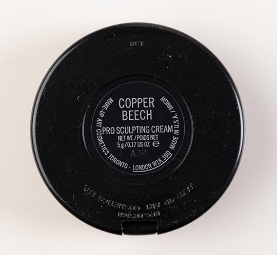 MAC Copper Beach Pro Sculpting Cream