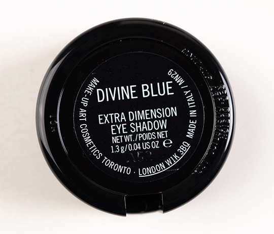 MAC Divine Blue Extra Dimension Eyeshadow