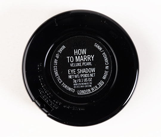 MAC How to Marry Eyeshadow