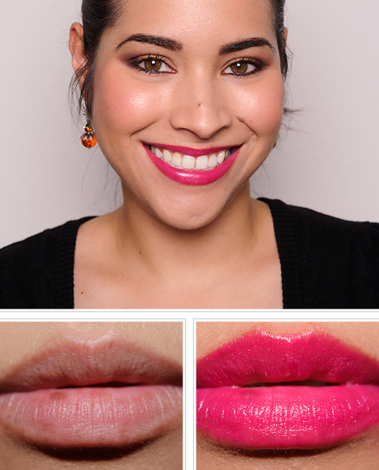 MAC Luxurious Pink Lip Look Bag Review, Photos, Swatches