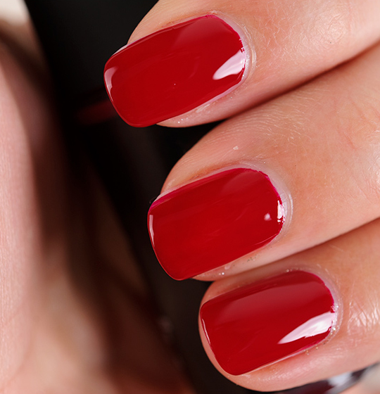 MAC Stage Red Nail Lacquer