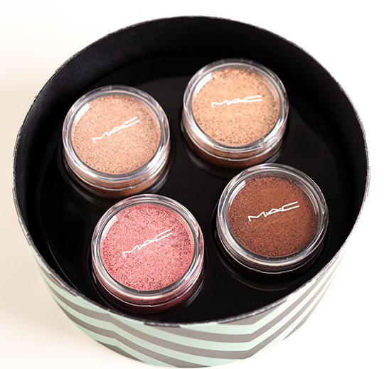 MAC Tenderly Warm Crushed Metallic Pigments Set