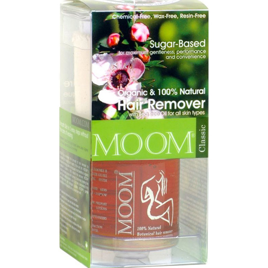 Moom Hair Removal Kit with Tea Tree Oil (Classic)
