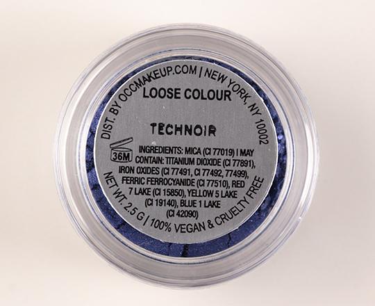 OCC Technoir Loose Colour Concentrate