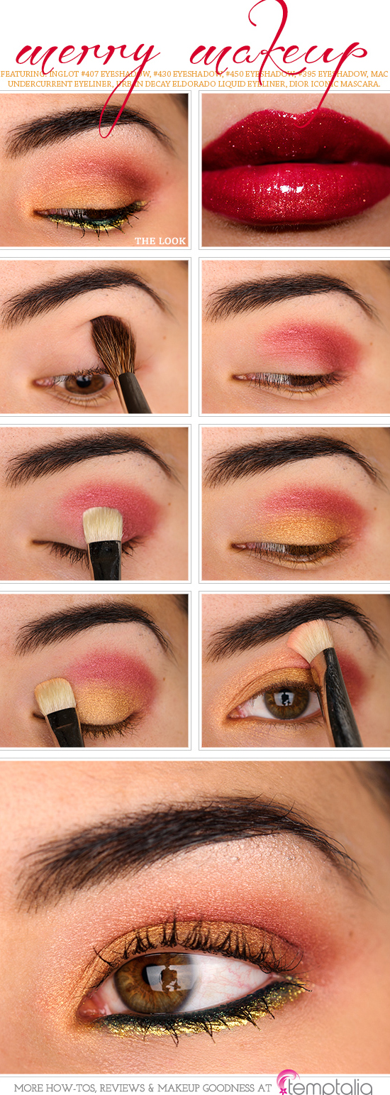 How to apply eyeshadow application of eyeshadow how to merry makeup baditri Image collections