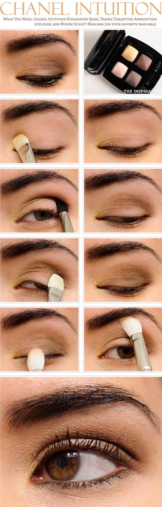 Chanel Intuition Eyeshadow Quad