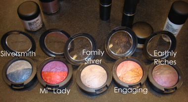 MAC COSMETICS | ANTIQUITEASE COLLECTION SWATHCES