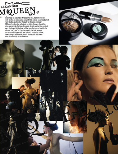 ALEXANDER MCQUEEN FOR MAC COSMETICS