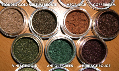 MAC Overrich Swatches