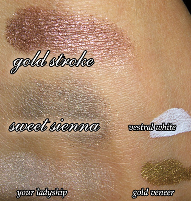 MAC COSMETICS | ANTIQUITEASE COLLECTION SWATCHES AND PHOTOS