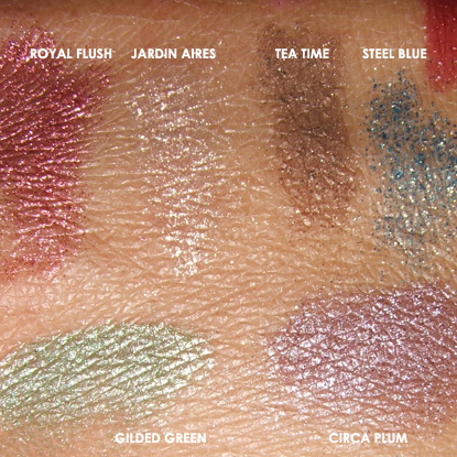MAC Cosmetics | Colour Forms Swatches