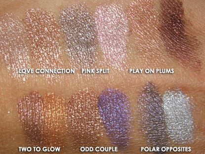 MAC Electroflash Swatches