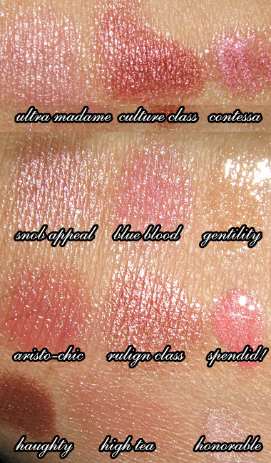 MAC COSMETICS | FINERY COLLECTION REVIEW, SWATCHES, PHOTOS