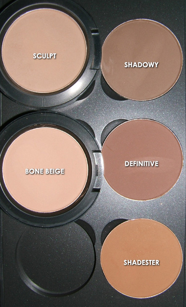 Mac Cosmetics Sculpt Shape Swatches Product