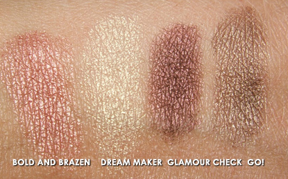 MAC Starflash Swatches