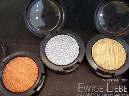 MAC COSMETICS RICHMETAL METAL-X PHOTOS SWATCHES