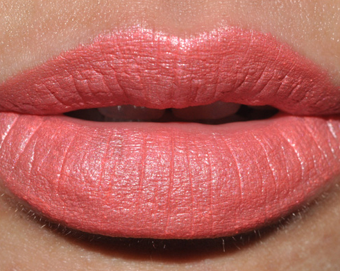 Swatch rouge à levre SEE SHEER - CROSSWIRES - COSTA CHIC Lipswatch_costachic