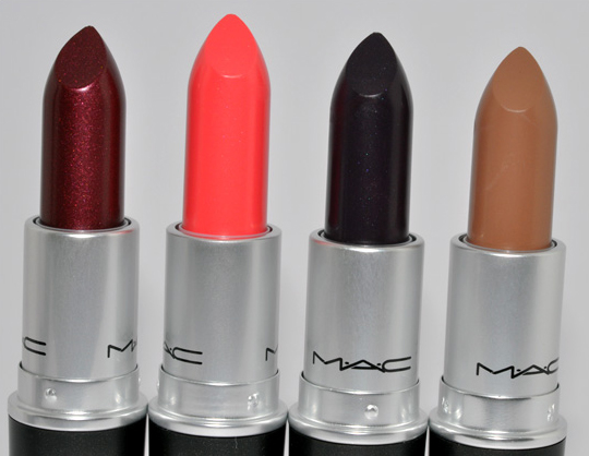 MAC Lipsticks: Hipster, Red Full Stop, Faultlessly F/W, Our Pick