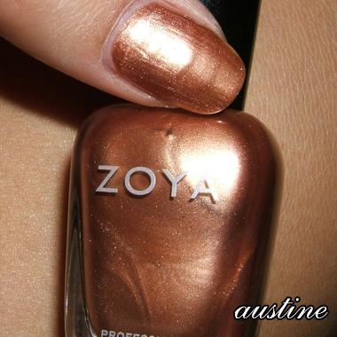 ZOYA UTOPIA WINTER 2007 | AUSTINE