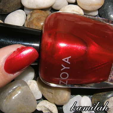 ZOYA UTOPIA WINTER 2007 | KAMILAH