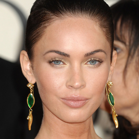 "megan fox makeup. Megan Fox. ""The makeup is"