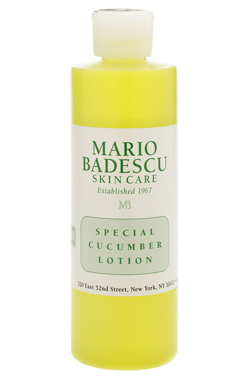 Acne Prone Skin Tone With Mario Badescu Special Cucumber Lotion