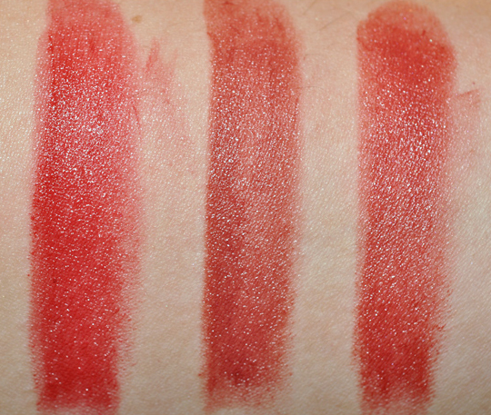 Chanel Rouge Coco Swatches