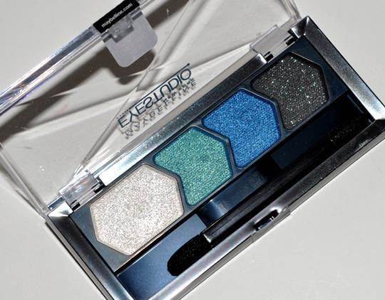 Maybelline Eye Studio Sapphire Siren Eyeshadow Quad