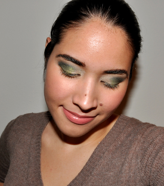 Maybelline Eye Studio Green with Envy