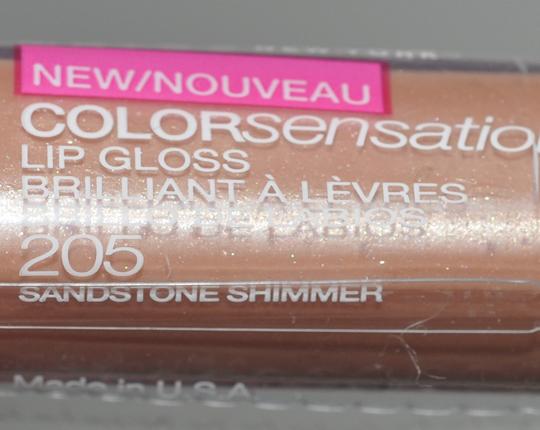 Maybelline Sandstone Shimmer Lipgloss