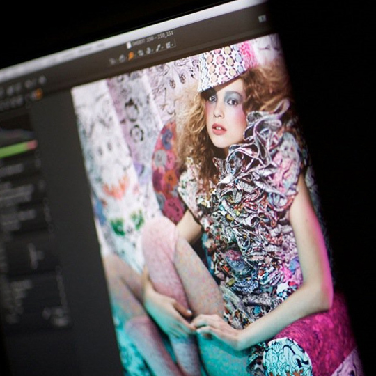 MAC Liberty of London Behind-the-Scenes Photoshoot