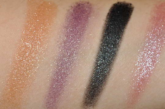 Stila Jewel Eyeshadow Palette for Spring 2010 Review, Photos, Swatches