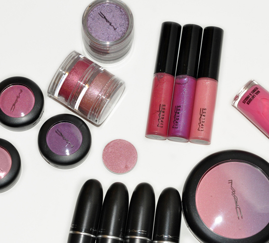 MAC Cosmetics Spring Colour Forecast 1