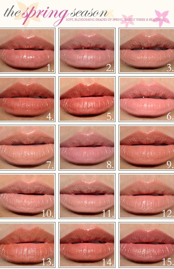 springseason warmernudes trend warna lipstik 2013 | warna lipstik 2013