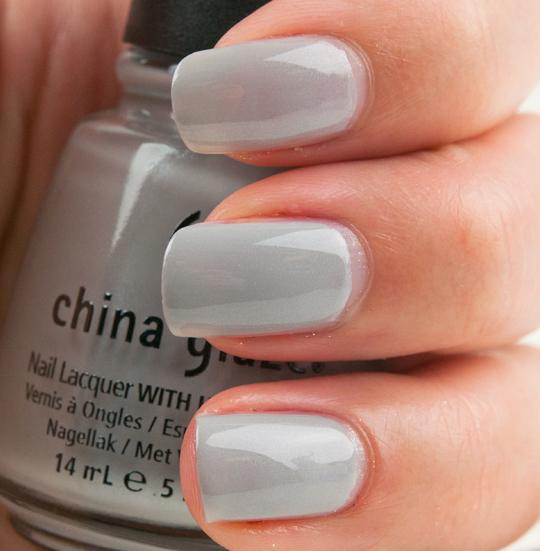 China Glaze Grey Nail Polish: China Glaze Anchors Away Review, Photos, Swatches (Part 2