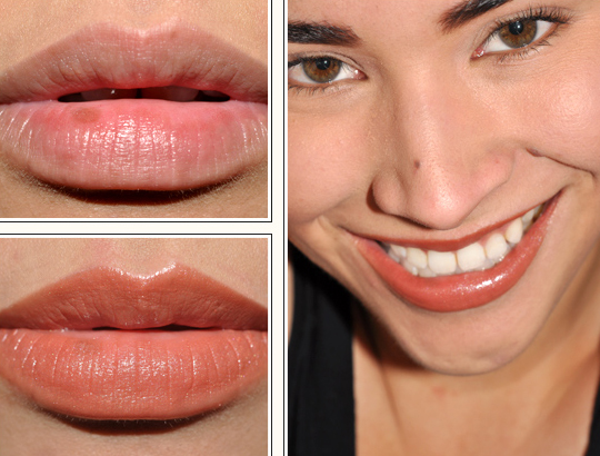 Korres #36 Natural Brown Lipstick