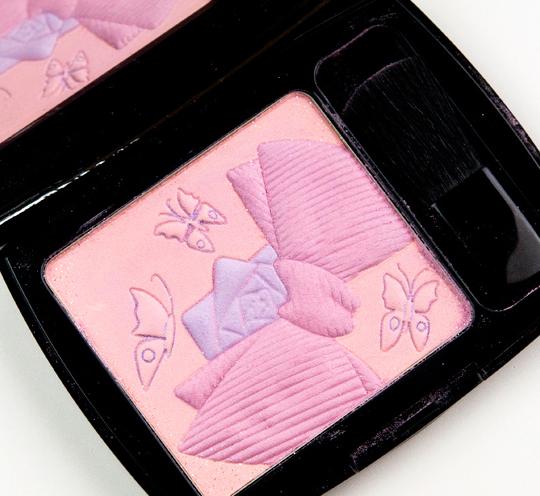 Lancome Glowy Ballerine Butterflies Fever Blush