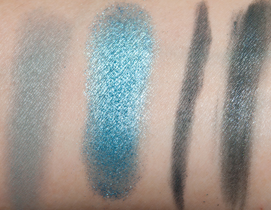 Lancome Teal Fury Color Design Palette