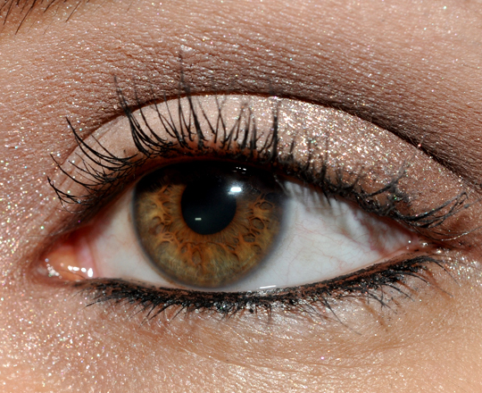 neutral eyeshadow for brown eyes. Smoky Brown Eyes with Lancome