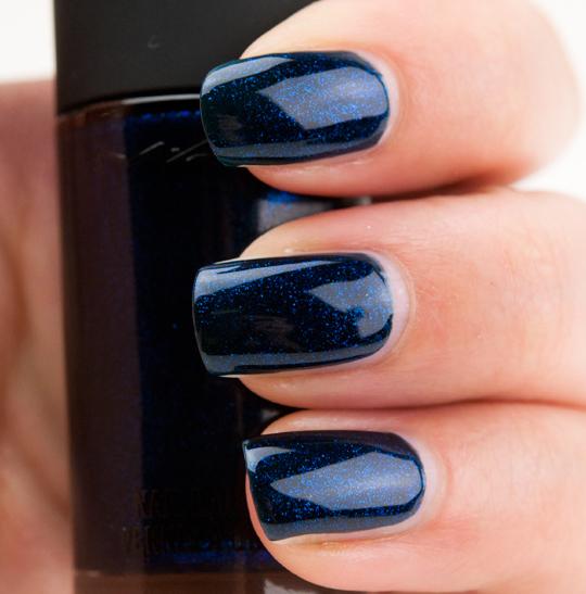 MAC Biker Blue Nail Lacquer