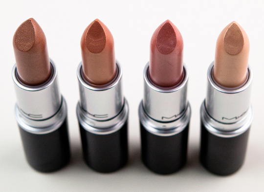 MAC Cham-Pale Lipsticks