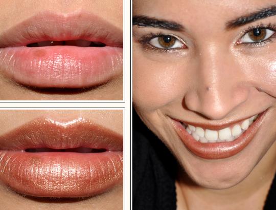 MAC Cham-Pale Lipstick... Mac Freckletone